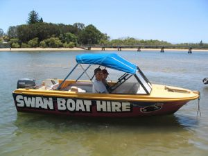 Swan Boat Hire - Attractions Brisbane