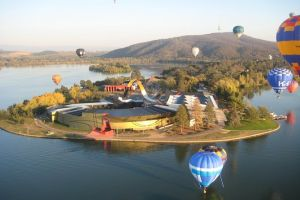 Canberra Hot Air Balloon Flight at Sunrise - Attractions Brisbane